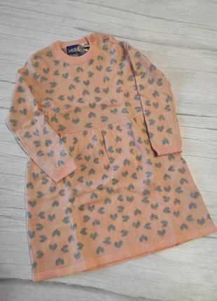 Теплое платье тепла сукня lupilu 86/92 германия