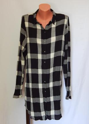 Рубашка-туника  zara trafaluc collection(размер 40)