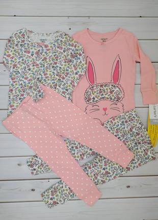 Пижама картерс 12 мес. на девочку ростом 74-80 см.
