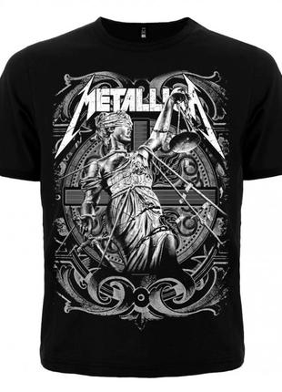 """Футболка metallica """"and justice for all"""""""