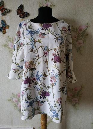 Розкошная женская блузка # блузка в цветовой принт # oasis