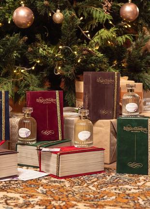 Нишевая парфюмерия афродизаки стойкие шлейфовые bibliotheque de parfume