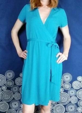 Платье на запах calvin klein. размер xs