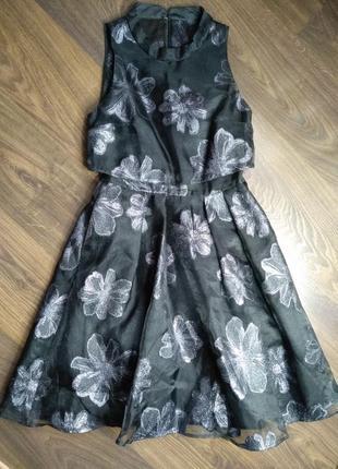 Шикарное нарядное новогоднее  платье