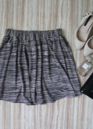 Актуальная расклешенная юбка #101
