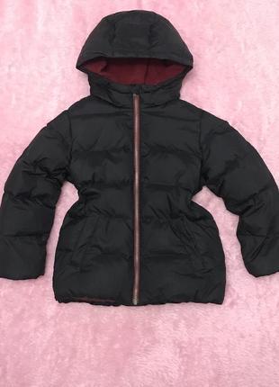 Куртка пуховик benetton+подарок