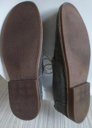 Туфли замшевые серые george 42р-р7 фото