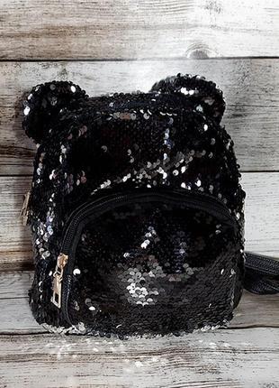 Рюкзак с пайетками-перевертышами - микки маус