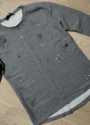 Свитшот реглан худи пуловер свитер кофта кофточка