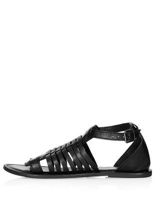 Кожаные сандалии от topshop-38