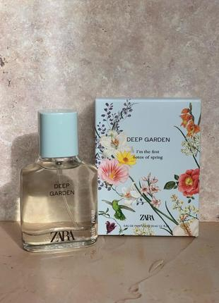 Духи zara deep garden /жіночі парфуми /туалетна вода /туалетная вода