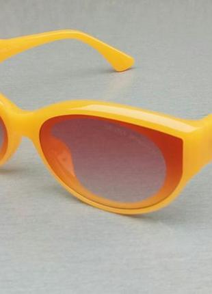 Gentle monster очки женские солнцезащитные оранжевые