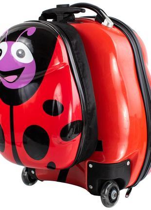 Детский рюкзачок детский чемодан дорожный рюкзак+чемодан