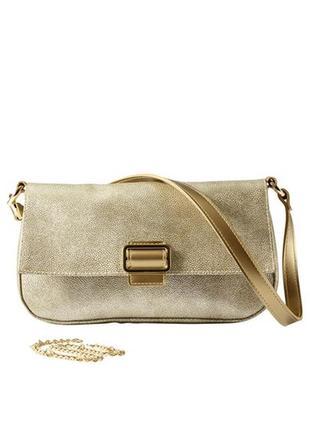 Прямоугольная сумочка под металлик