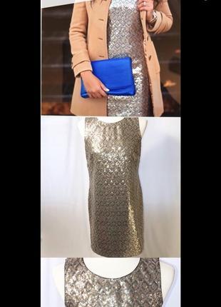 Короткое платье с пайетками, блестящее вечернее платье,