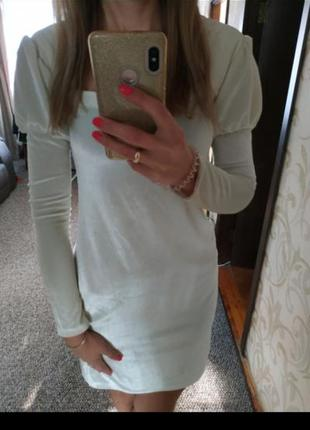 Стильне велюрове плаття, сукня, на саята, новий рік, дешево