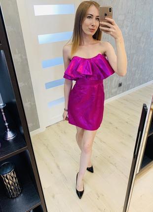 Неонове плаття zara