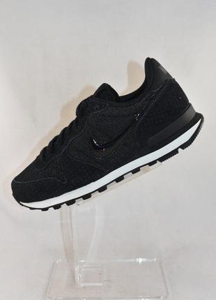 Комбинированные кроссовки из натуральной кожи и замши nike internationalist 828407-003