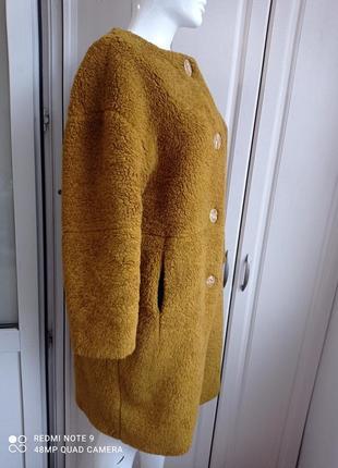Шубка тедди пальто