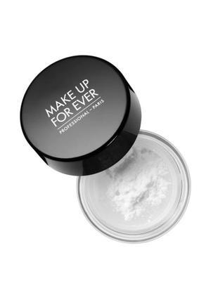 Пудра рассыпчатая make up for ever ultra hd microfinishing loose powder