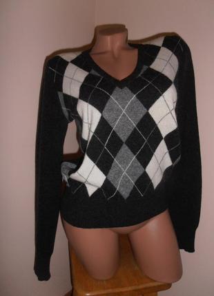 🔥распродажа! шерстяной пуловер, джемпер united colors of benetton