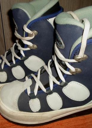 Ботинки детские для сноуборда размер 33