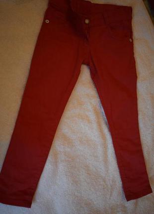Катоновые красные брюки