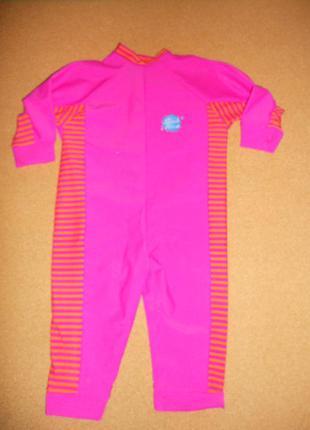Купальный солнцезащитный костюм splash about 1-2 года