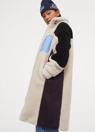 Пальто из плюша