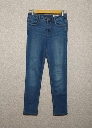 Zara оригинал джинсы скини штаны размер 32 22 xxs