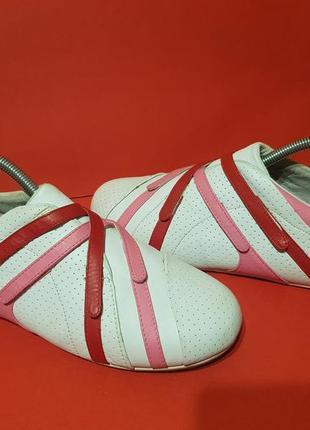 Lacoste intrigue 40р. 25.5см кроссовки слипоны кожаные