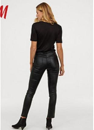 Штани джинси h&m под кожу h&m xs-msalle 50%
