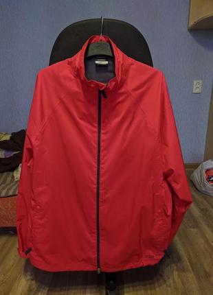 Nike golf storm fit непромокаемая курточка харик gore tex красная