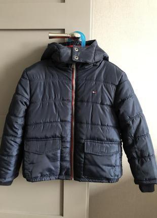 Зимова куртка tommy hilfiger нова на флісі