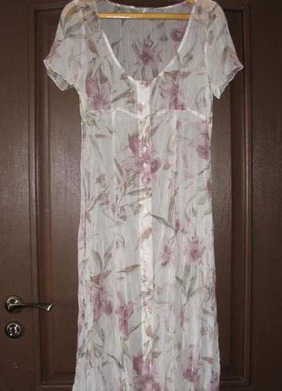 Женственный сарафан (платье) для создания романтического образа,шифон-жатка,р.l(46)