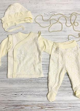 Набор для новорожденного зефир зиронька на выписку