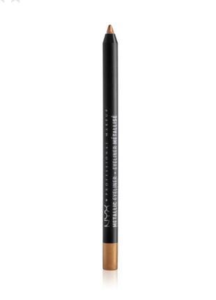 Карандаш для глаз nyx professional makeup metallic eyeliner