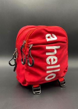 Детский спортивный рюкзак м