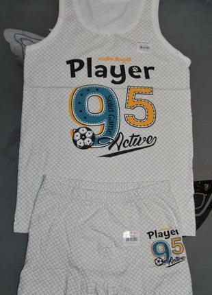 Комплект 10-11 лет рост 146-152 донелла donella футбол боксеры шортики