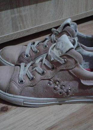Кожаные кроссовки, 33р.