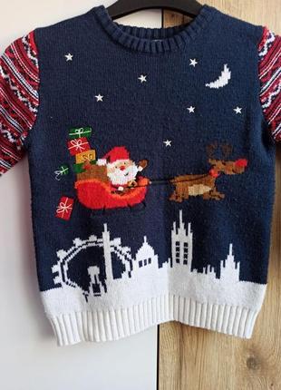 Новогодний свитер george