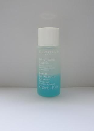 Clarins instant eye make-up remover миниатюра оригинал