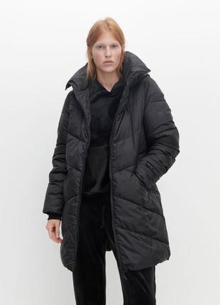 Женский пальто-пуховик