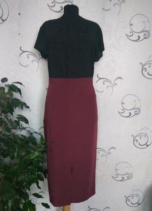 Стильная чёрная женская блузка george