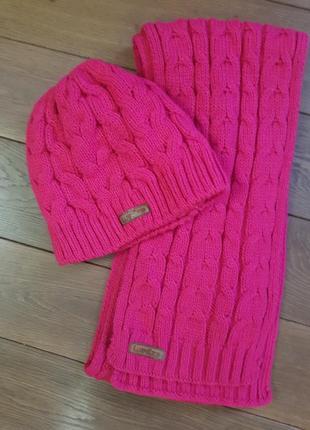 Шапка шарф