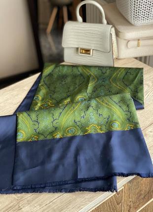 Шёлклвый платок, шаль lanvin
