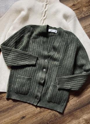 Кашемировый кардиган свитер пуловер cashmere