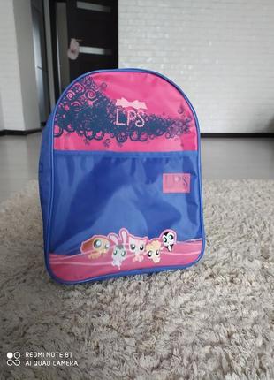 Рюкзак рюкзачок для дівчинки littlest pet shop