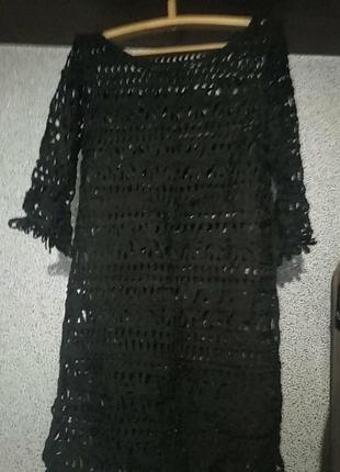 Платье прозрачное