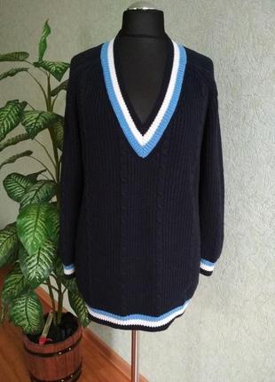 Пуловер женский теплый, тянется. next.